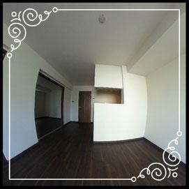 リビング②対面キッチン↓360°画像によるバーチャル内覧はこちら。↓グレースガーデンN30-203号室