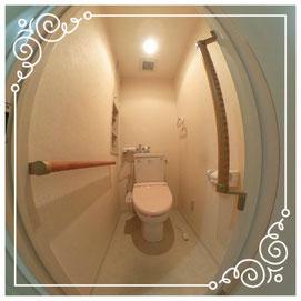トイレ↓パノラマ内覧体験はこちらから↓