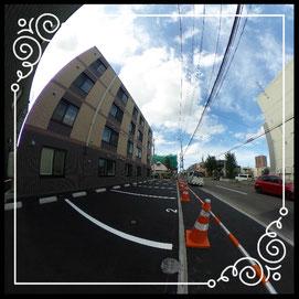 共用②駐車場↓360°画像によるバーチャル内覧はこちら。↓グレースガーデンN30