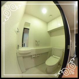 トイレ↓パノラマで内覧体験できます。↓D'グラフォート札幌ステーションタワー511号室