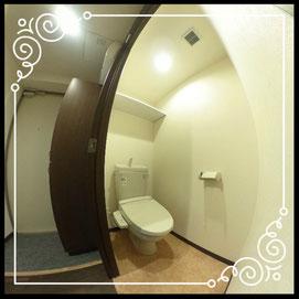 トイレ↓360°画像によるバーチャル内覧はこちら。↓グレースガーデンN30-201号室