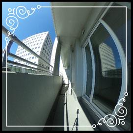 バルコニー↓パノラマで内覧体験できます。↓D'グラフォート札幌ステーションタワー511号室
