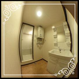 洗濯機置場①室内↓360°画像によるバーチャル内覧はこちら。↓グレースガーデンN30-202号室