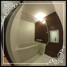 浴室↓360°画像によるバーチャル内覧はこちら。↓グレースガーデンN30-201号室