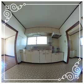 2階キッチン↓パノラマで内覧体験できます。↓