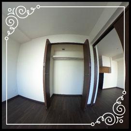 洋室①収納↓360°画像によるバーチャル内覧はこちら。↓グレースガーデンN30-203号室