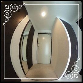 ↓360°画像によるバーチャル内覧はこちら。↓レジデンスパーク札幌北402号室
