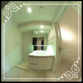 洗面台↓パノラマで内覧体験できます。↓D'グラフォート札幌ステーションタワー511号室