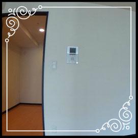 TVモニター付きインターフォン↓パノラマで内覧体験できます。↓D'グラフォート札幌ステーションタワー511号室