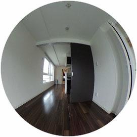 内装/専有部↓360°画像によるバーチャル内覧はこちら。↓クラークサイドサッポロ306号室-ClarkSideSAPPORO-306