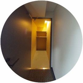 THETA360°GALLERY ↓360°画像によるバーチャル内覧はこちら。 THETA360°GALLERY-201号室・内装