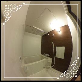 浴室①↓360°画像によるバーチャル内覧はこちら。↓グレースガーデンN30-203号室
