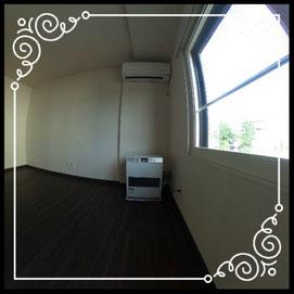 リビング③灯油FFストーブ↓360°画像によるバーチャル内覧はこちら。↓グレースガーデンN30-202号室