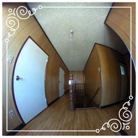 2階廊下↓パノラマで内覧体験できます。↓