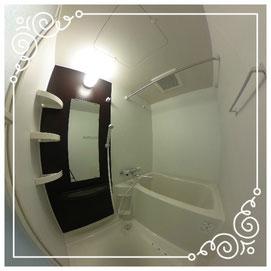 浴室↓パノラマで内覧体験できます。↓マンダリン北7条302号室-MandarinN7-302