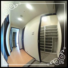 シューズインクローゼット↓パノラマで内覧体験できます。↓D'グラフォート札幌ステーションタワー511号室