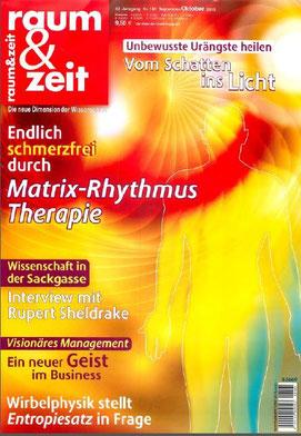 Zeitschrift Raum & Zeit Oktober 2013