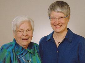 Gertrude und Hannelore Klier im Jahr 2010