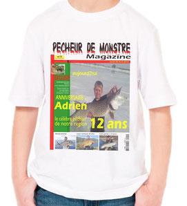 tee shirt garçon personnalisé