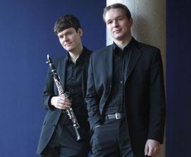 David Kindt, Klarinette; Helge Aurich, Klavier