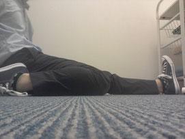 旅行後から腰痛に悩む整体師