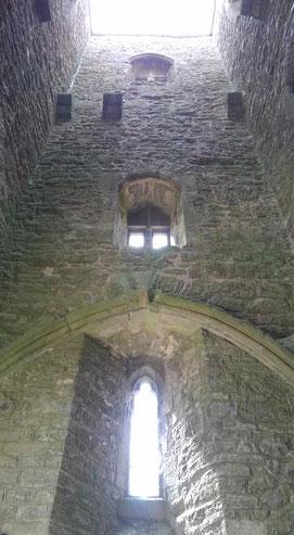 グラストンベリートールのミカエルの塔内部