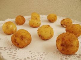 Croquetas de cecina y queso semicurado