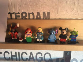 Noelia (Valladolid) Lego Minifiguras Serie 18 Disney