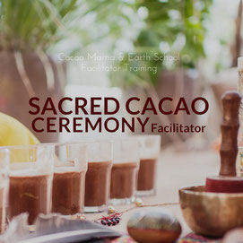 sacred cacao ceremony facilitator training cacao mama earth school