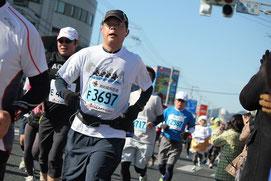 6km地点(高須ナンコクスーパー前)(9時41分)