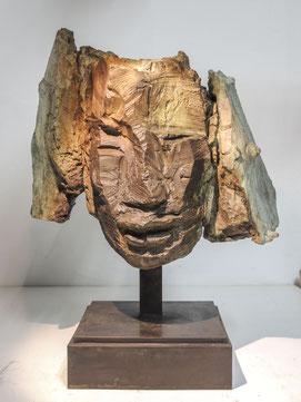 Kopf 254, 2017, Bronze, Höhe 45cm, 6 Ex.
