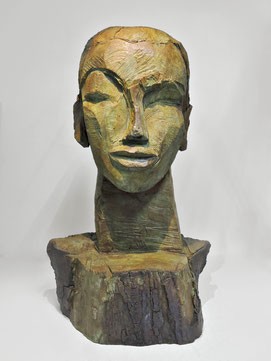 Kopf 245, 2016, Bronze, 9 Ex., 67 x 43 x 30 cm