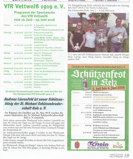 Amtsblatt Gemeinde Vettweiß 10.06.2016