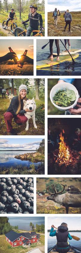 Outdoor- und Aktivurlaub Schweden Lappland