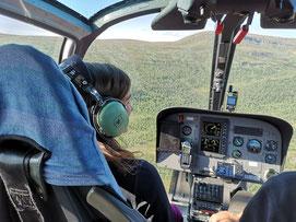 Outdoor- und Aktivurlaub Schweden Lappland - Helikopterflug und Wanderung Kungsleden