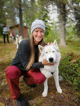 Huskytrekking Aktivurlaub Schweden AntsInPants Tours Huskys Schlittenhunde Lappland Schweden