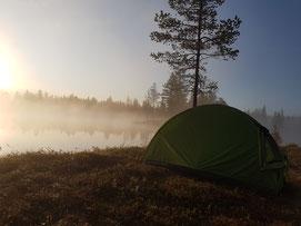 Outdoor- und Aktivurlaub Schweden Lappland - 2 Tages Wander Trekking Tour