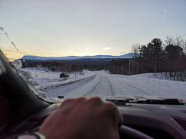 Winterurlaub in Schweden Lappland - An- und Abreise nach Schweden