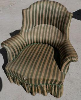 location vieux fauteuil  décoration vintage Marseille Provence