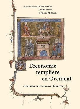 Couverture du livre - L'économie templière en Occident.
