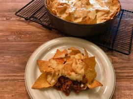 Nacho Auflauf Chili con Carne Auflauf aus der Ofenhexe, Stoneware rund oder Ofenmeister aus dem Pampered Chef Onlineshop bestellen