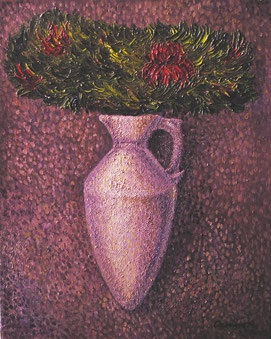 """№1 серия """"Абстрактные натюрморты"""", х.м., 40Х50 см., 2005"""