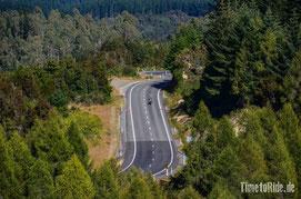 Neuseeland - Motorrad - Reise - traumhafte Motorradstrecken