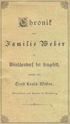Bild: Teichler Wünschendorf Chronik Weber