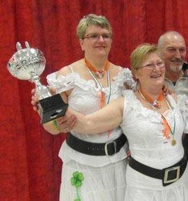 concours irlandais le 17 mars 2013 médaille d or et coupe sous le nom de isamamiledygwen