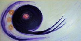 """""""Göttlicher Wind"""" - 50 x 100 cm -"""