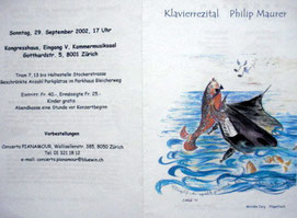Klavierrezital Philip Maurer