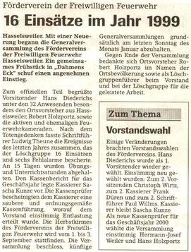 Jülicher Nachrichten vom 05.02.2000