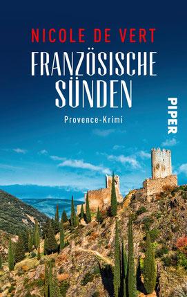 Bild: Buchumschlag Französische Sünden von Autorin Nicole de Vert