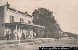 Gare de Maubourguet train rail